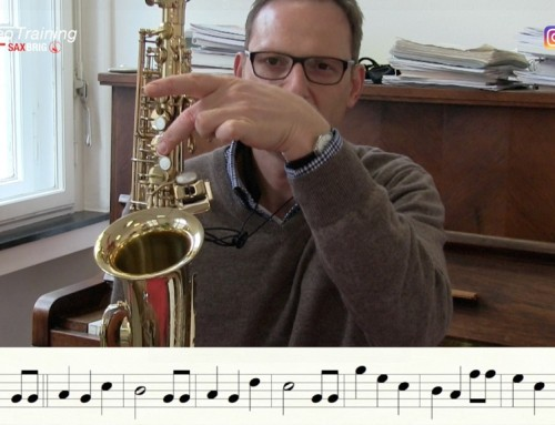 Happy Birthday mit dem Saxophon – DailySax 074 – Saxophon lernen