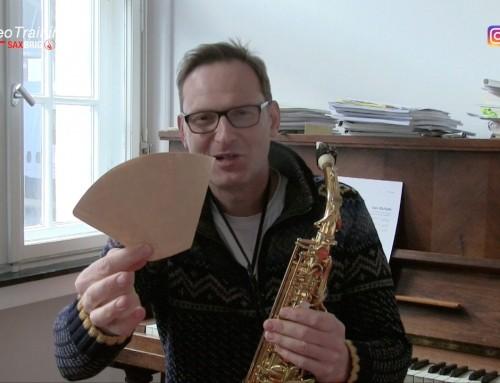 Kaffee-Filter gehen auch… DailySax 076 – Saxophon spielen lernen