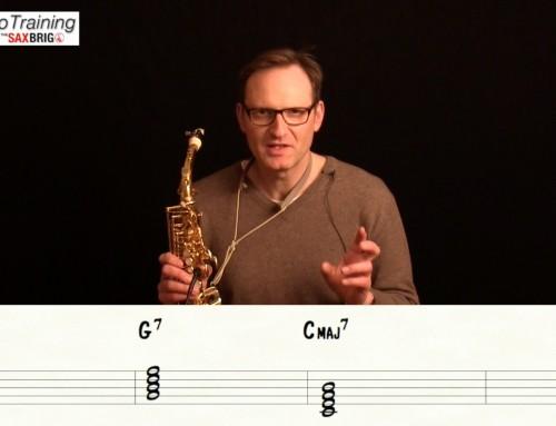 Wie improvisiert man über verschiedene Akkorde? Saxophon Improvisation lernen