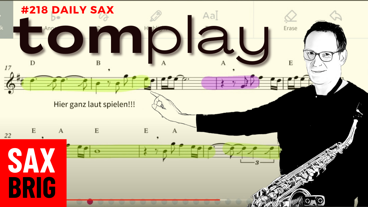 Tomplay saxophon